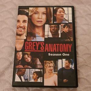 GREY'S ANATOMY Season One DVD 📀